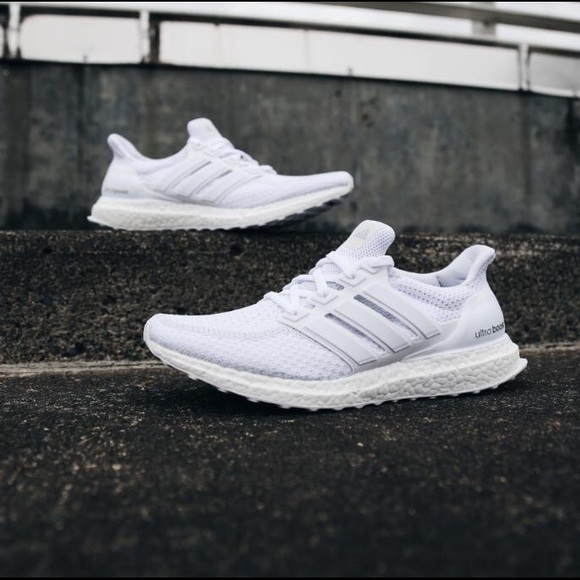 dc82ffce936 Men s Adidas Ultra Boost Triple White 9.5