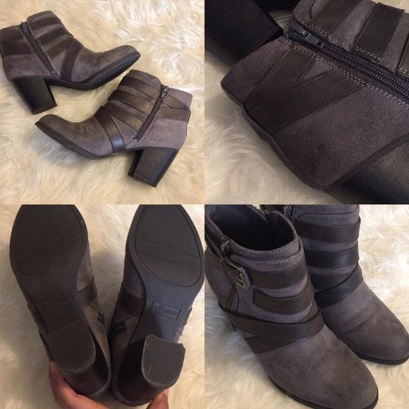 Fergalicious Shoes - Fergalicious - Tanner Grey Booties