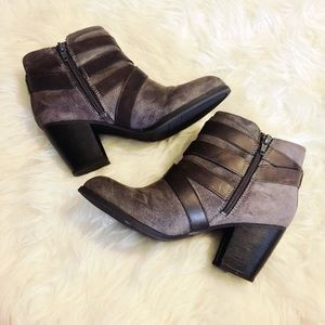 Fergalicious Shoes - Fergalicious - Tanner Grey Booties