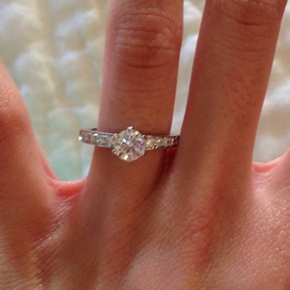 Tiffany Co Jewelry Tiffany Co Engagement Ring Poshmark