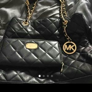 18 Off Michael Kors Handbags Mk Large Susannah Quilted