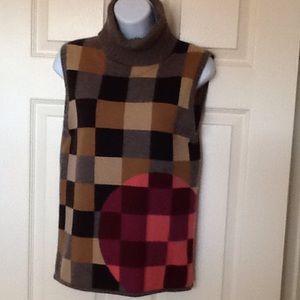 Size L 100% cashmere tsesay turtle neck sweater