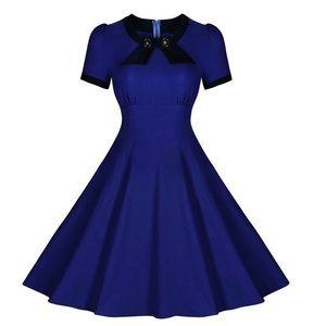 Dresses & Skirts - Blue vintage dress