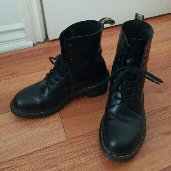 32b927813db Dr. Martens Shoes | Dr Martens Clemency Boot Us 7 Uk 5 In Black ...