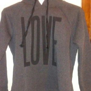 Love hoodie ladies sz medium