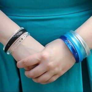 Alexis Bittar Jewelry - ⬇ Bright Blue Alexis Bittar Skinny Tapered Bangle