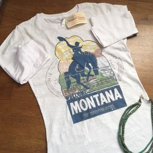 NWT Montana Bucking Horse Layering Tee
