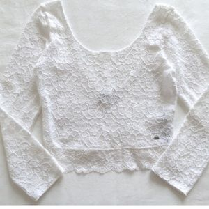Gilly Hicks Tops - Gilly Hicks lace white top
