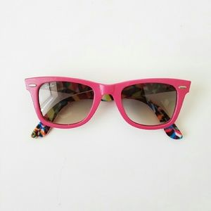 Pink Ray-Ban Wayfarer Special Series Sunglasses