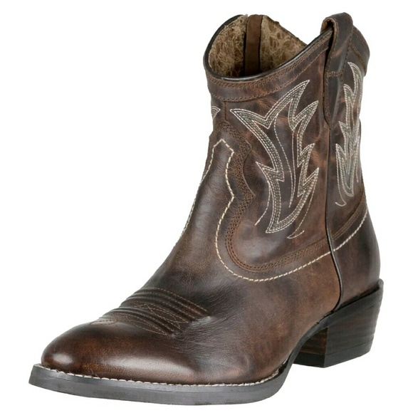 74% off Ariat Shoes - Ariat Women's Billie Sassy Brown Boots from ...