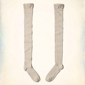 New Hollister Over The Knee Socks
