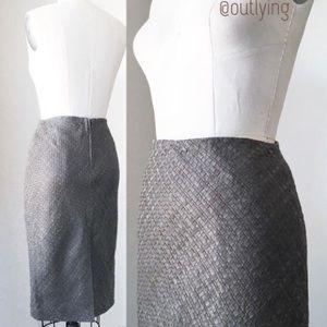 TY-LR Dresses & Skirts - TY-LR Genuine Leather Woven Skirt