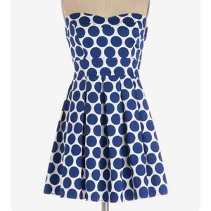Modcloth Ixia Bubbly Double Take dress, M