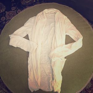 Silence and Noise Cream Cardigan