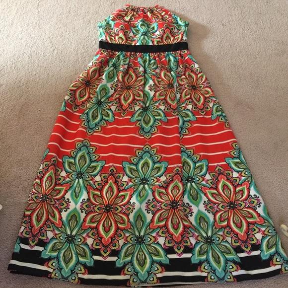 204d1736bb0cc Eliza J Halter summer Dress