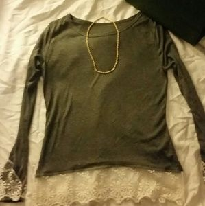 Tops - * Long sleeved w/lace*