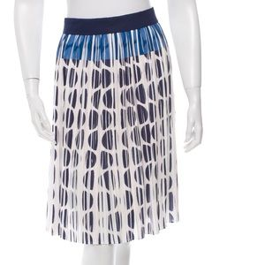 Diane von Furstenberg Dresses & Skirts - Diane Von Furstenburg Polka Dot Pleated Skirt