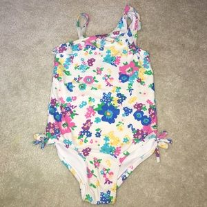 Other - Tropical flower swimming suit