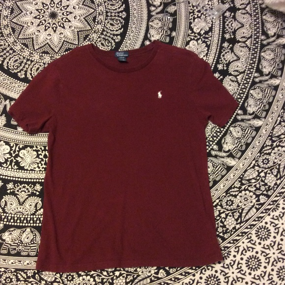 bb13dff5a15120 Polo by Ralph Lauren Shirts & Tops | Solid Cotton Crewneck Tee ...