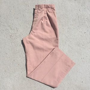 Vintage Light Pink Trousers