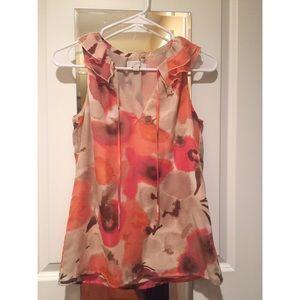 Loft floral print blouse
