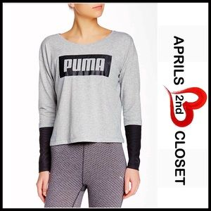 Puma Tops - ❗1-HOUR SALE❗PUMA Long Sleeve Pullover Tee
