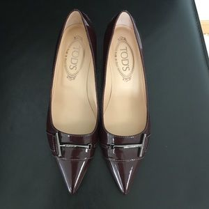 Tod's Shoes - NEW Tod's patent leather pumps