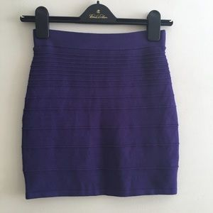NWT bodycon ribbed knit skirt