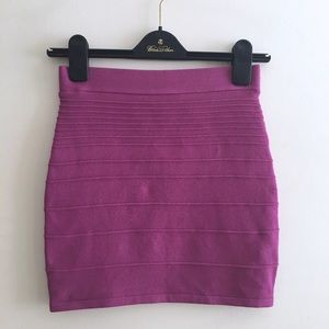 NWT knit ribbed bodycon skirt
