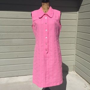 Vintage Button Up Dress