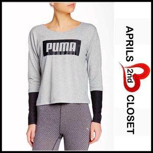 Puma Tops - ❗️1-HOUR SALE❗️PUMA Long Sleeve Pullover Tee