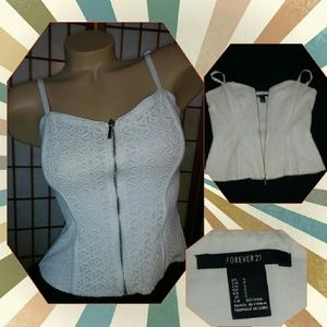 $4.99 shipping Small corset/bustier by Forever21