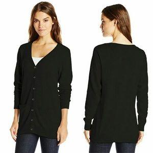 Sweaters - Black knit cardigan