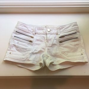 Express White Shorts 2