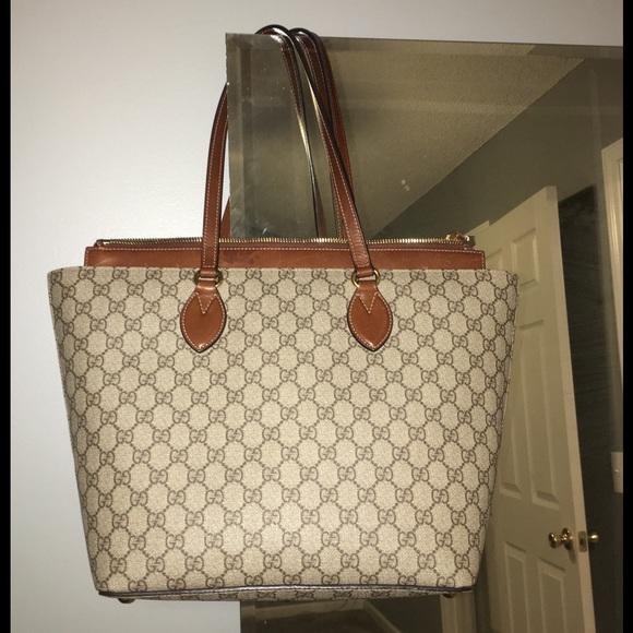 d9f53c3183ae Gucci Bags | Gg Supreme Tote | Poshmark