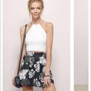 Kiersten floral skirt