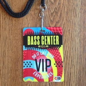 Urban Outfitters Other - Bassnectar BASS CENTER lanyard