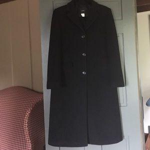 JCrew long wool coat