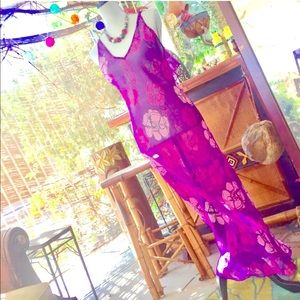 Vintage Sheer Dress / Lovely Lingerie RELAX- Do It