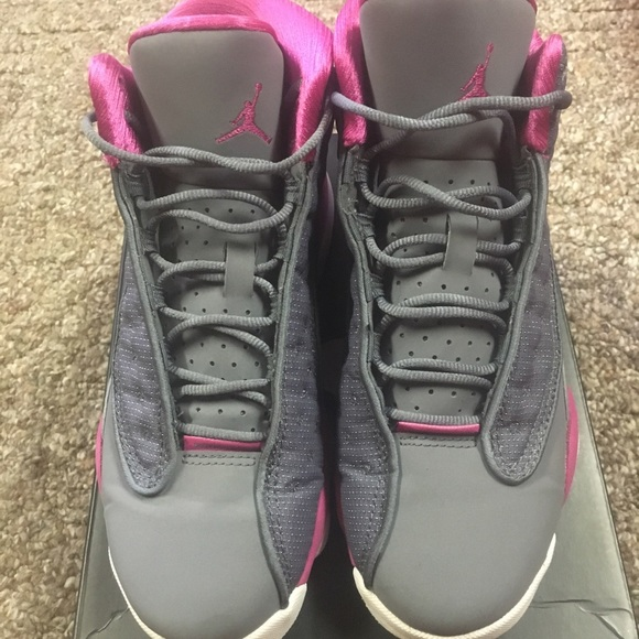 outlet store d545b 87db0 Cool grey and pink retro 13s