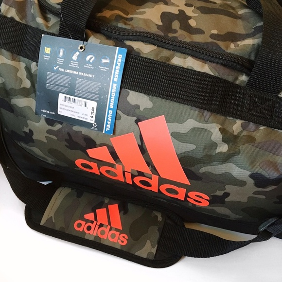 c45fb17499 Adidas Camo Duffle Bag
