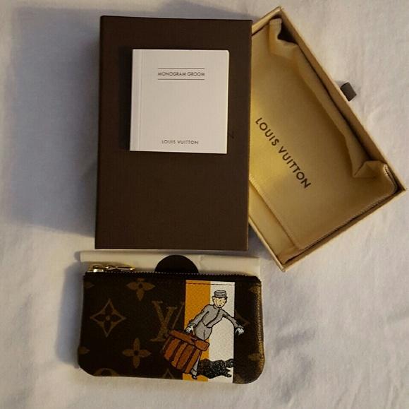 44c6895f2602 Louis Vuitton Handbags - LOUIS VUITTON GROOM Cles Key Coin Purse