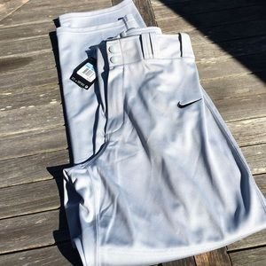 Nike Baseball Gray Baseball Pants New NWT M