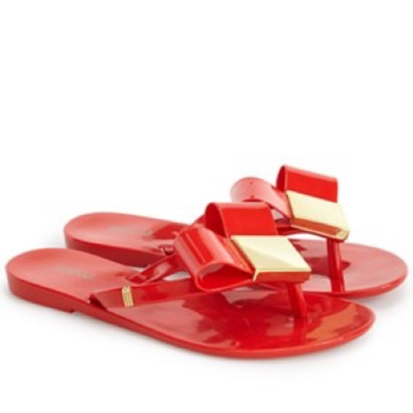 76edfb3d5bb NEW Mini Melissa Harmonic Bow Sandals Flats. M 57e311494127d0373c013cf3