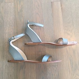 Zara Shoes - Zara Woman Blue Sandals