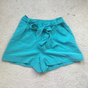 Turquoise shorts by H&M