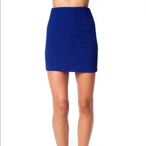 BCBGeneration Dresses & Skirts - Bcbgeneration Navy bandage skirt (m/l)