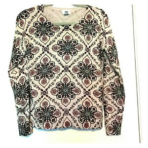 Old Navy Sweater beautiful print M