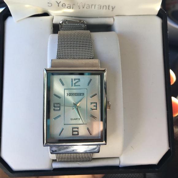 Hennessey Accessories Silver Watch Poshmark