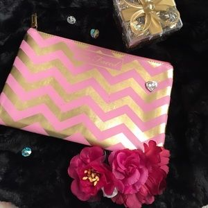 Too Faced - For @wilddaisy Faced makeup bag from Darien\'s closet ...